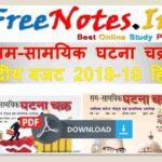 sam-samayik ghatna chakr kendriy bazat 2018-19 Hindi