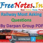 Railway Asking Questions Darpan Group PDF