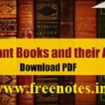 List Of 100 Famous Books Authors 2018 competitive Exams-min