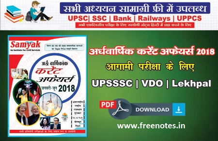 Current Affairs Yearly Hindi may To december 2018