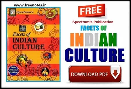 Facets of Indian Culture By Spectrum PDF Download