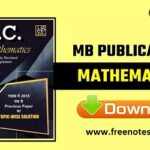 MB Publication SSC Advanced Maths Book PDF Download