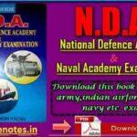 National Defense Academy by RamSingh Yadav PDF Download