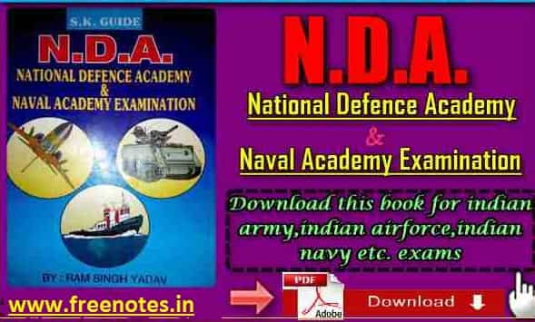 National Defense Academy by RamSingh Yadav PDF Download