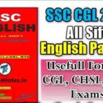 SSC CGL 2017 GK By Titab Roy Notes PDF Download
