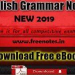 New English Grammar Notes Ebook 2019 PDF Download