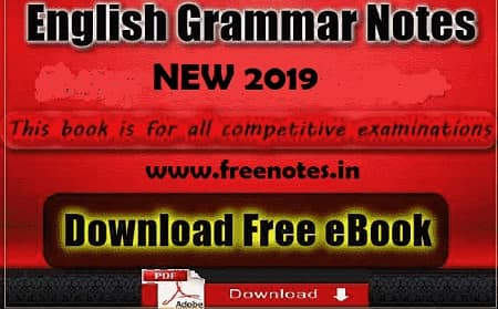 New English Grammar Notes Ebook 2019 PDF Download