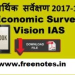 most important topics Economic Survey Summary Download