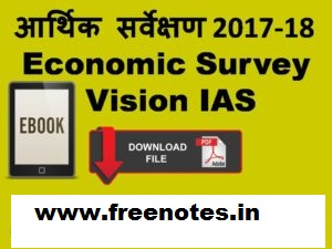 most important topics Economic Survey Summary Download