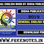 General English Grammar 2019 PDF By Disha Publication