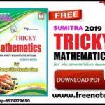 Sumitra Tricky Mathematics Hindin Medium 2019 ebook