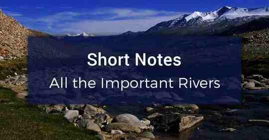 Bharat Ki Nadiya PDF (Indian Rivers Notes)