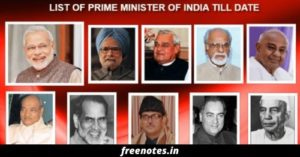 Indian Prime Minister List PDF Book Download 2020