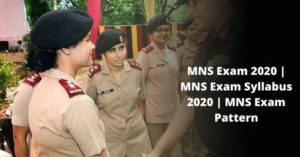 MNS Exam 2020  MNS Exam Syllabus 2020  MNS Exam Pattern