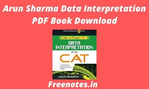 Arun Sharma Data Interpretation PDF Book Download