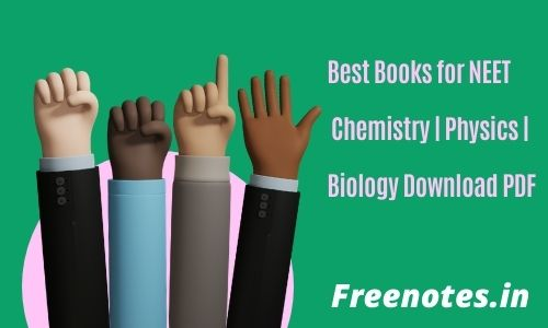 Best Books for NEET Chemistry _ Physics _ Biology Download PDF