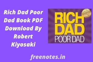 Rich Dad Poor Dad Book PDF Download By Robert Kiyosaki