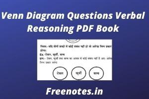 Venn Diagram Questions Verbal Reasoning PDF Book
